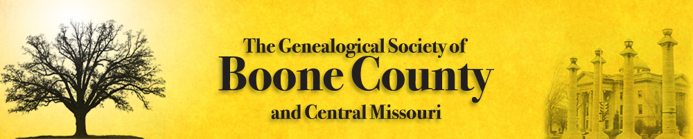 Genealogical Society of Boone County and Central Missouri